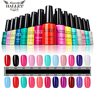 1Pcs UV Gel Nail Polish Long-Lasting Nail Gel Soak-off LED Lamp Fingertip Ballet Gel Polish 12ML Environment 1-10 Colors