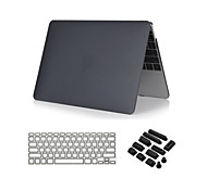 """claro caso de toque suave 3 em 1 de cristal com tampa do teclado e ficha de poeira para o ar macbook 13 """""""