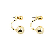 Fashion Women CCB Front And Back Earrings
