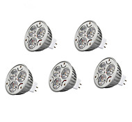 5pcs  9W MR16 900LM Warm/Cool Light Lamp LED Spot Lights(12V)