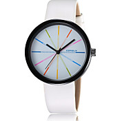 2016 Unisex's Water Resistant Fashion Watches Alloy Dial Quartz Leather Luxury Dress Watch  (Assorted Color)