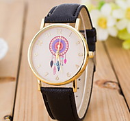 Women's Fashionable  Leisure Cool Ethnic Quartz Watch Leather Band Cool Watches Unique Watches