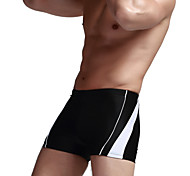 Men's Boxer Swim Trunks Swimming Trunks Spell Color Fashion Children's Clothing