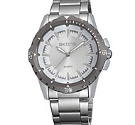 Men's Watch skone Fashion Watch Stainless Steel Band watch Wrist Watch Cool Watch Unique Watch