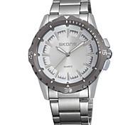 Men's Watch skone Fashion Watch Stainless Steel Band watch