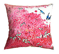 New Design Print Waxberry Birds Decorative Throw Pillow Case Cushion Cover for Sofa Home Decor Soft Material