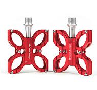 Antideslizante del pedal de la aleación de aluminio CoolChange Red biycle / Bike
