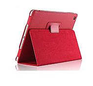 9,7 pouces cas pu tablette couverture en cuir pour iPad avec l'air / ipad 5