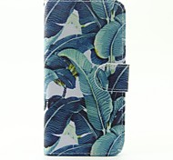 For Samsung Galaxy Case Card Holder / with Stand / Flip / Pattern / Magnetic Case Full Body Case Feathers PU Leather SamsungA5(2016) /