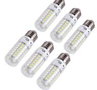 youoklight® 6pcs E14 / E27 4W 240lm CRI>80 3000k / 6000k 69 * SMD5730 Bombilla de Luz LED (110-120V / 220-240V)