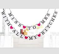 Перламутровая бумага Свадебные украшения-1шт / комплект Весна Лето Осень Зима Неперсонализированный
