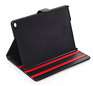Newest Korea Style For Apple iPad Air Leather Case High Quality Foldable Stand PU Leather Flip Tablet Cover