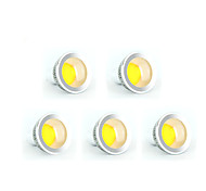 5pcs MORSEN® 5W GU10 350-400LM Support Dimmable Led Cob Spot Light Lamp Bulb