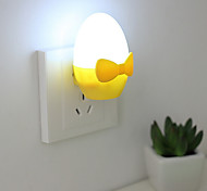 Creative Cartoon Golden Eggs Light Sensor Relating to Baby Sleep Night Light(Assorted Color)