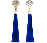 Retro Auricular Long Tassel Earrings
