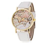 Unisex Wrist Watch Gold Disk Enclosure Chart Belt Quartz Watches For Men And Women(Assorted Colors)