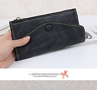 Travel WalletForTravel Storage PU Leather Black / Grey / Blue / Purple / Pink / Gold 15*15