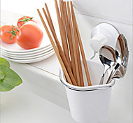 Plastic Suction Storage Caddy Tidy Handy Kitchen Cleaning Tool Utility Organizer Box