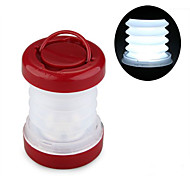 5LED White Telescopic Camping Lamp Lantern (3XAAA)