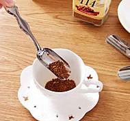 Japanese-style Minimalist Stainless Steel Teaspoon Tea Shovel Essential Tea Spoons Coffon Spoon