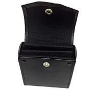 caja del filtro de UV / FLD / CPL para el vidrio filtra hasta 49mm negro / rojo - con capacidad para 3 filtros