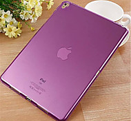 Ultra-Thin Flat Transparent TPU Material Protective Shell for iPad Pro 9.7 (Assorted Colors)