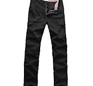 Lesmart Da uomo Dritto Pantaloni Nero - MDMK1235