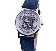 New Fashion Brand Ladies Women Quartz Harry Potter Movie Extension Hogwarts School Leather Watch Quartz Wristwatches