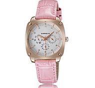 2016 Women's Water Resistant Fashion Watches Alloy Dial Quartz Leather Luxury Dress Watch  (Assorted Color) Cool Watches Unique Watches