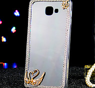 For Samsung Galaxy Case Rhinestone / Transparent Case Back Cover Case Animal Acrylic Samsung A9