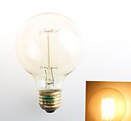 1 pezzo Zweihnder E26/E27 40W 1 COB 550 lm Bianco caldo G80 edison Vintage Lampadine LED a incandescenza AC 110-130 V