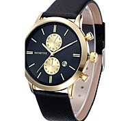 Men's Watches Fashion Waterproof Men Casual Date Leather Military Watch Gift, Unisex watches Wrist Watch Cool Watch Unique Watch