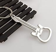 porta-chaves chaveiro de zinco presente abridor de garrafa de cerveja liga de guitarra abridor de garrafa chaveiro chaveiro