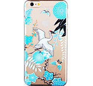 Chinese Landscape Painting Painted Pattern Soft Transparent TPU Back Case For Iphone6Plus/6SPlus 5.5""