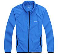 Lesmart Hommes Mao Manche Longues Veste Bleu / Noir / Vert - JL13607