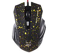 JITE 6D Gaming Mouse 6 Keys Wired Lighting USB Mouse Red Yellow Blue Green Black