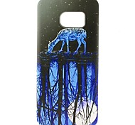 Twilight Sheep Pattern TPU Soft Case for Galaxy S7 Edge/Galaxy S7/Galaxy S6
