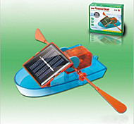 Solar Powered Gadgets DIY Toy For Boy Children Educational ABS Orange/Blue