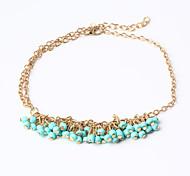 HUALUO®Bohemian beaded bracelet turquoise beads bracelet Ms. bracelet wild