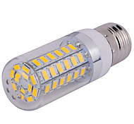 1 pcs E14/G9/E26/E27 15 W 60 SMD 5730 1500 LM Warm White/Cool White Corn Bulbs AC 110/220 V