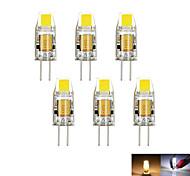 2W G4 Luces LED de Doble Pin MR11 1 COB 160 lm Blanco Cálido / Blanco Fresco Decorativa DC 12 / AC 12 V 6 piezas