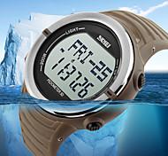 Sports Watch Heren / UniseksLED / Waterbestendig / Hartslagmeter / Snelheidsmeter / Stappenteller / Fitness trackers / Stopwatch / s
