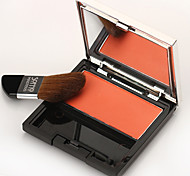 Soffio Rouge Blush Natural Lasting Stereo Repair Capacity Powder Makeup Nude Orange Pink Matt