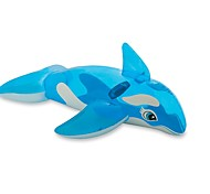"Intex Lil' Whale Ride-On 60"" x 45"" (Or 1.52m x 1.14m) For Kids Age 3+"