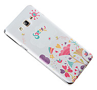 For Samsung Galaxy Case Embossed Case Back Cover Case Cartoon TPU Samsung On 7