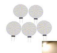 4W G4 Faretti LED MR11 36 SMD 3014 400-480 lm Bianco caldo / Luce fredda Decorativo DC 12 / AC 12 V 5 pezzi