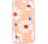 Pink Daisy Flower Pattern Embossed TPU Case for LG K7/ K10