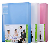 Multifunction Portable Files Folders & Filing for Office 60pages Random Colors