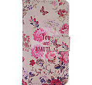 For Samsung Galaxy Case Card Holder / with Stand / Flip / Pattern / Magnetic Case Full Body Case Cartoon PU Leather Samsung A7(2016)