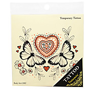 Plantillas para Tatuajes Temporales- paraJuventud-Negro-PVC-1-17*15*0.3